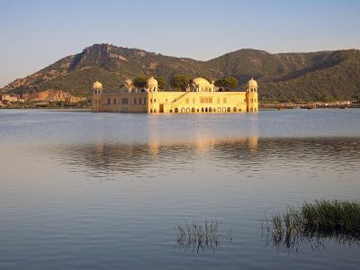 The Jai Mahal (Lake Palace), Jaipur, Rajasthan, India-Gavin Hellier-Photographic Print