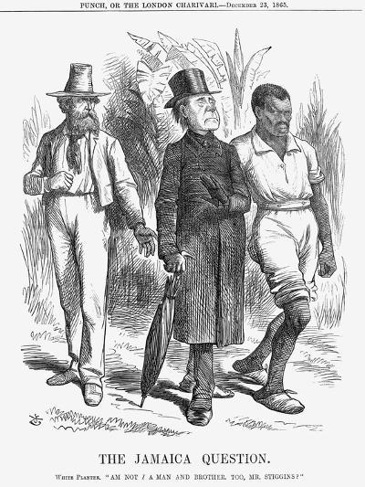 The Jamaica Question, 1865-John Tenniel-Giclee Print