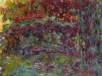 The Japanese Bridge at Giverny, 1918-24-Claude Monet-Giclee Print