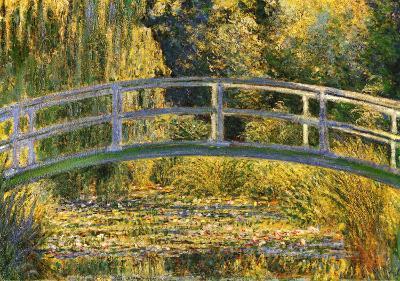 The Japanese Bridge-Claude Monet-Art Print