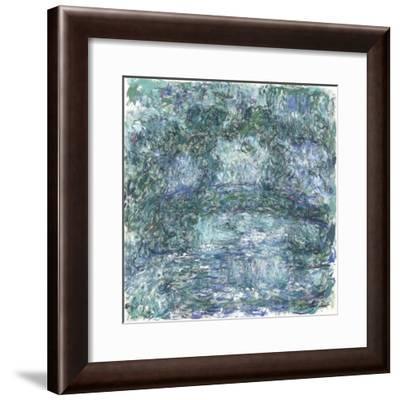 The Japanese Bridge-Claude Monet-Framed Giclee Print
