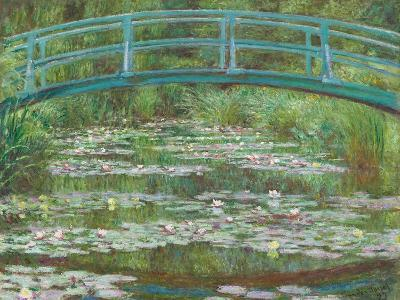 The Japanese Footbridge, 1899-Claude Monet-Giclee Print