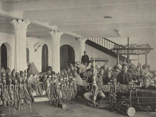 The Javanese Orchestra--Photographic Print