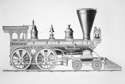 The 'JB Turner' Locomotive, 1867--Giclee Print