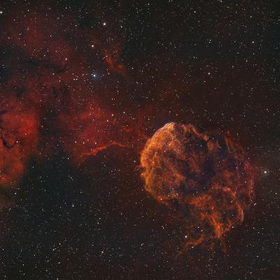 The Jellyfish Nebula-Stocktrek Images-Photographic Print