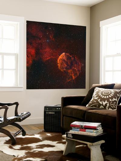 The Jellyfish Nebula-Stocktrek Images-Wall Mural