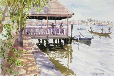 The Jetty, Cochin, 1991-Lucy Willis-Giclee Print