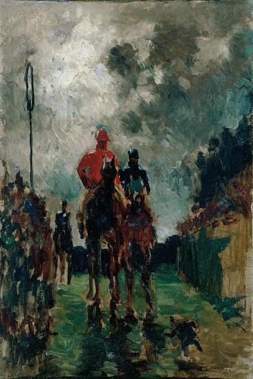 The Jockeys, 1882-Henri de Toulouse-Lautrec-Giclee Print