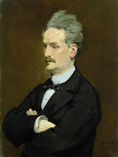 The Journalist Henri Rochefort-Edouard Manet-Giclee Print