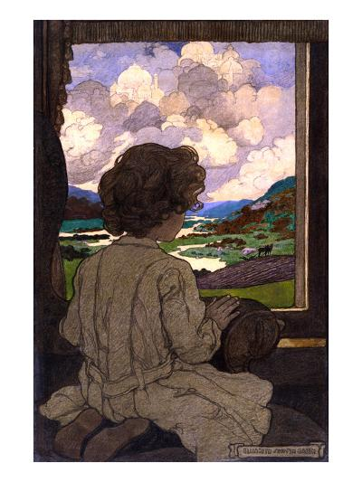 The Journey-Elizabeth Shippen Green-Art Print