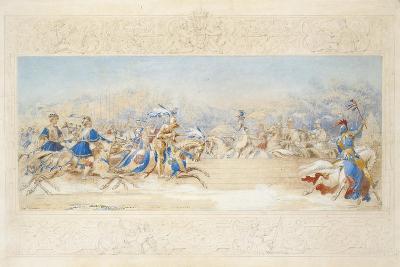 The Joust-James Henry Nixon-Giclee Print