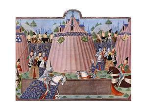The Jousts of St Inglevert, France, 1470-1475, (C1900-192)