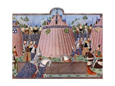 The Jousts of St Inglevert, France, 1470-1475, (C1900-192)--Giclee Print