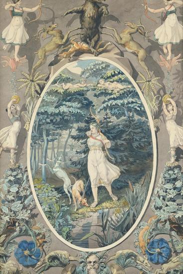 The Joy of Hunting, 1808-9-Philipp Otto Runge-Giclee Print