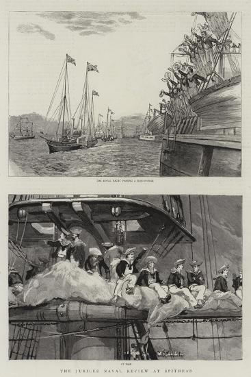 The Jubilee Naval Review at Spithead--Giclee Print