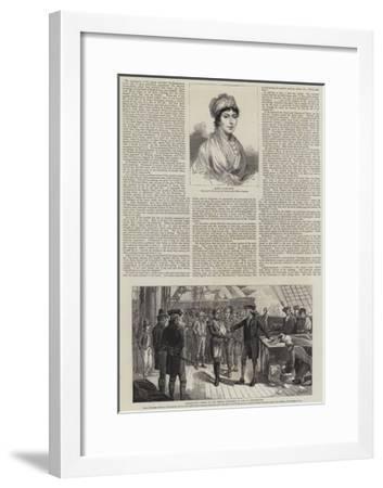 The Jubilee of George III--Framed Giclee Print