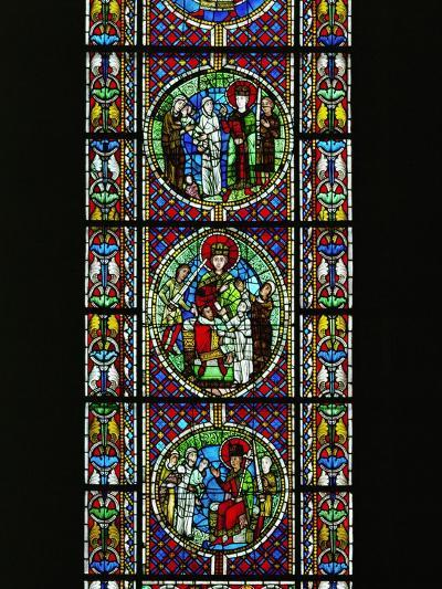 The Judgement of King Solomon, from the North Transept, Late 12th CE--Giclee Print
