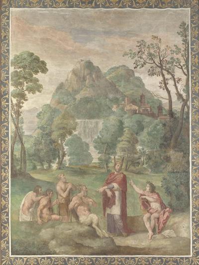 The Judgement of Midas, 1616-18-Domenichino-Giclee Print
