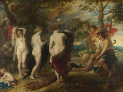 The Judgement of Paris, C. 1635-Peter Paul Rubens-Giclee Print