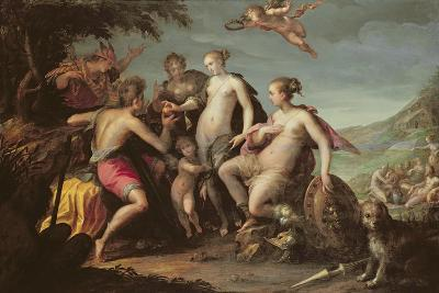 The Judgement of Paris-Johann or Hans von Aachen-Giclee Print