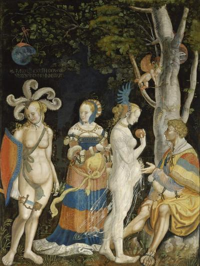 The Judgement of Paris-Niklaus Manuel I Deutsch-Giclee Print