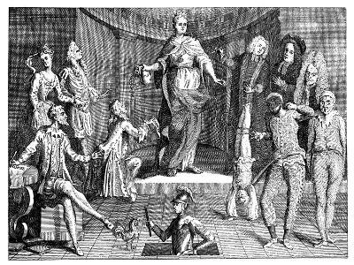 The Judgement of the Queen's Common Sense, 1736--Giclee Print