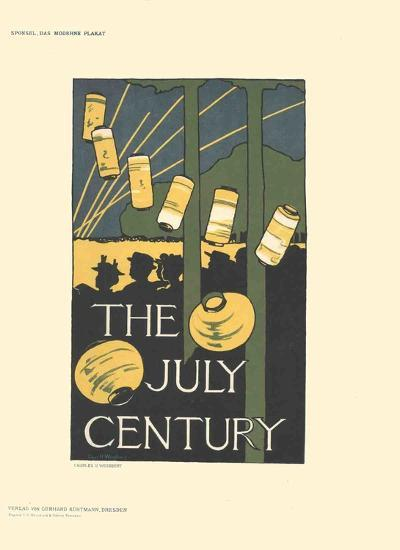 The July Century-Charles H. Woodbury-Collectable Print