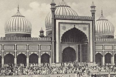 The Jumma Musjid, Delhi--Photographic Print