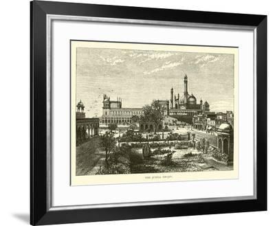 The Jumna Mesjid--Framed Giclee Print