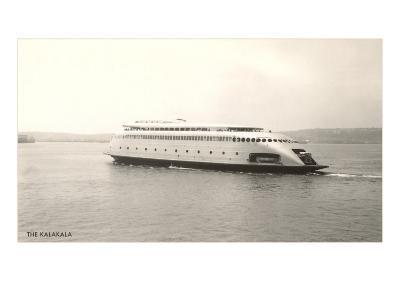The Kalakala, Streamlined Seattle Ferry--Art Print