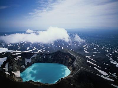 The Kamchatka Peninsula in Siberia, Petropavlovsk-Kamchatsky, Russia-Mark Newman-Photographic Print