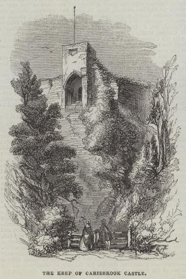 The Keep of Carisbrook Castle--Giclee Print