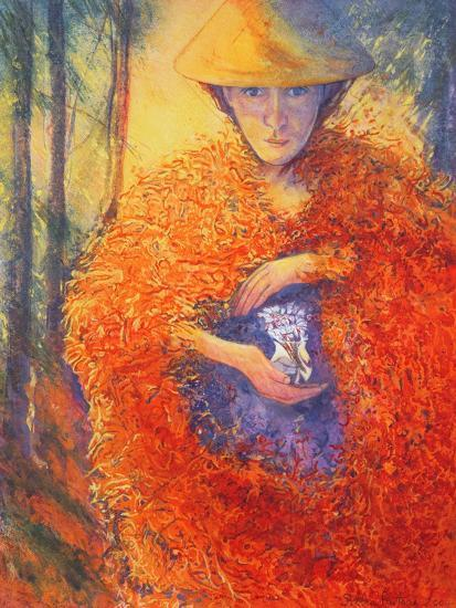 The Keeper of the Flowers, 2004-Silvia Pastore-Giclee Print