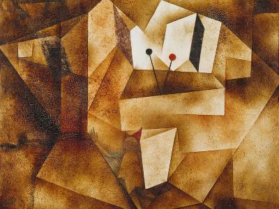 The Kettledrum Organ (Die Paukenorgel). 1930-Paul Klee-Giclee Print