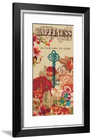 The Key to Life-Bella Dos Santos-Framed Art Print