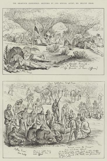 The Khartoum Expedition-Melton Prior-Giclee Print