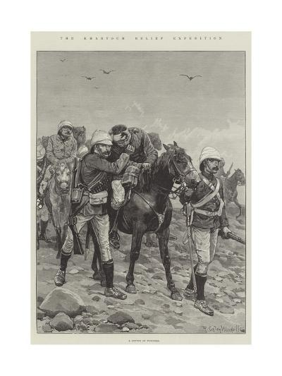 The Khartoum Relief Expedition-Richard Caton Woodville II-Giclee Print