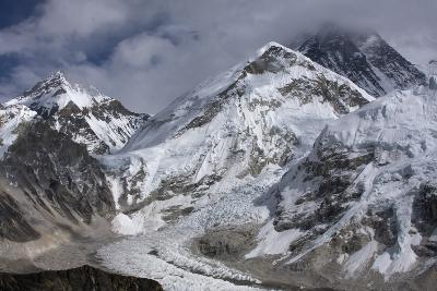 The Khumbu Icefall on the Way Up to Mount Everest-Jonathan Irish-Photographic Print