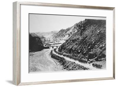 The Khyber Pass, North West Frontier of India, 1919--Framed Photographic Print