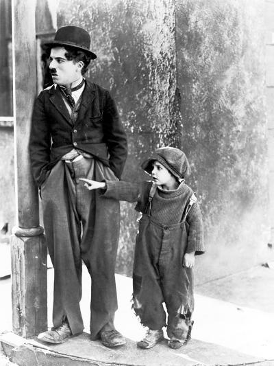 The Kid, Charles Chaplin, Jackie Coogan, 1921--Photo