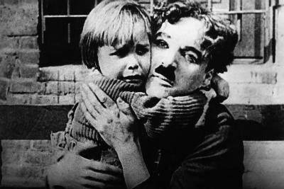 The Kid, Jackie Coogan, Charles Chaplin, 1921--Photo