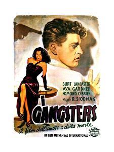 The Killers, (AKA I Gangsters), Ava Gardner, Burt Lancaster, 1946