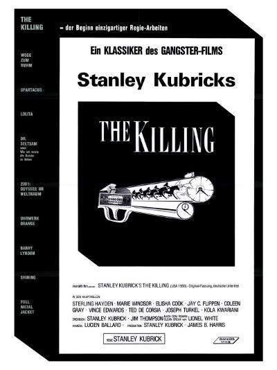 The Killing, German Movie Poster, 1956--Art Print