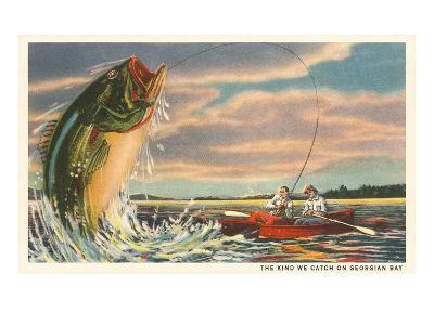 The Kind We Catch on Georgian Bay, Canada--Art Print