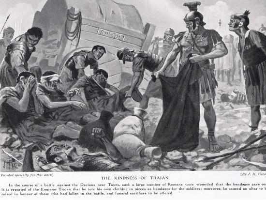 The Kindness of Trajan-John Harris Valda-Giclee Print
