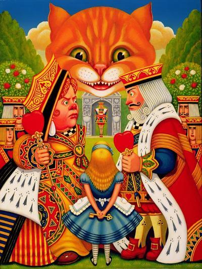 The King and Queen of Hearts, 2010-Frances Broomfield-Giclee Print