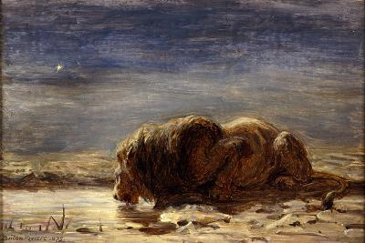 The King Drinks, 1875-Briton Riviere-Giclee Print