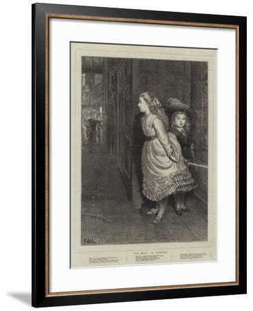 The King in Danger--Framed Giclee Print