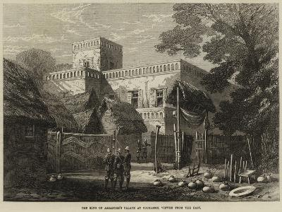 The King of Ashantee's Palace at Coomassie, Viewed from the East--Giclee Print