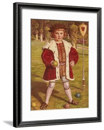 The King of Hearts-William Holman Hunt-Framed Giclee Print